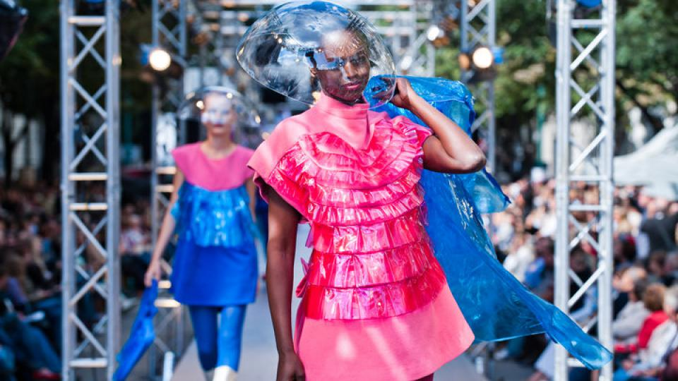 Markéta Martišková vyhrála soutěž mladých talentů na Prague Fashion Weekend 2010