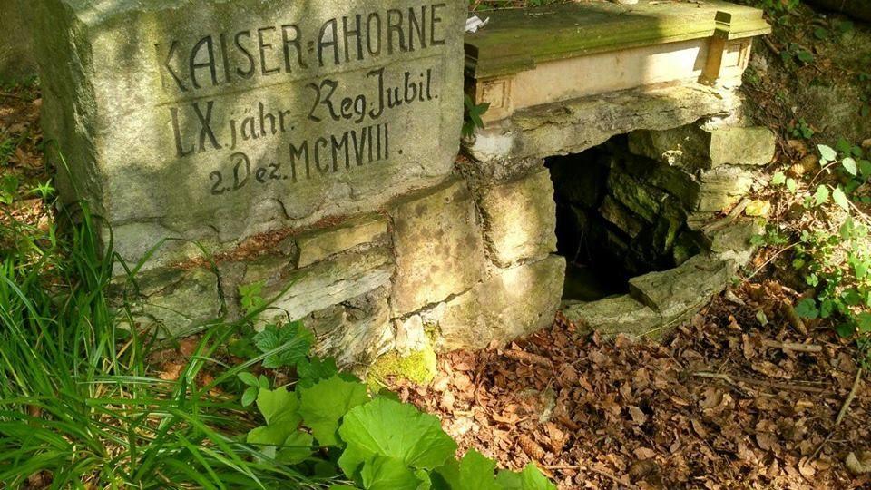 Císařský kámen se v Čechách zachoval jediný