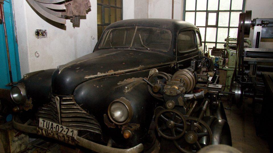 Vzácný protopyp vozu Škoda