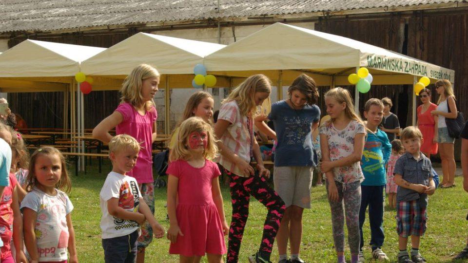 Bukvičtí připravili soutěže pro děti