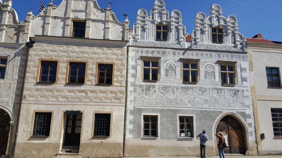 Luteránska modlitebna ve Slavonicích vznikla v domě č. 517 na Horním náměstí v 16. století. Luteráni se sem uchýlili poté, co jim Zachariáš z Hradce zakázal bohoslužby v gotickém kostele