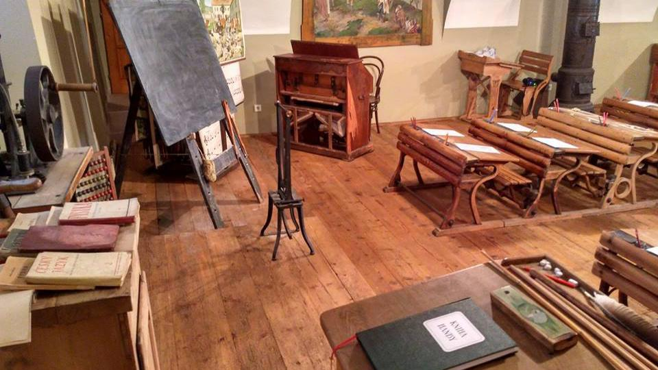 Historická třída v Muzeu řemesel v Letohradě