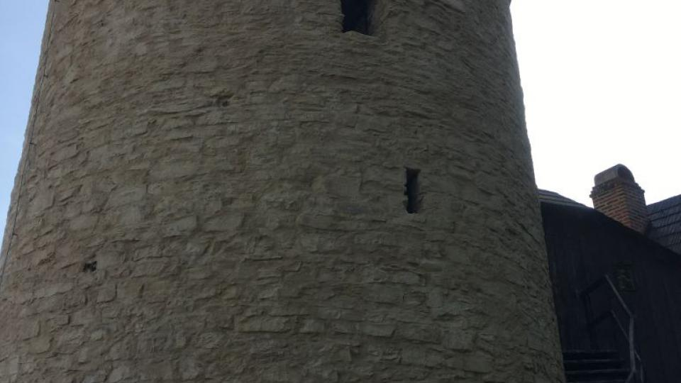 Věž Zázvorka po opravě