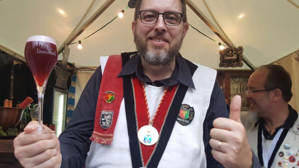 Pivovarnický velmistr Michel Torisaen