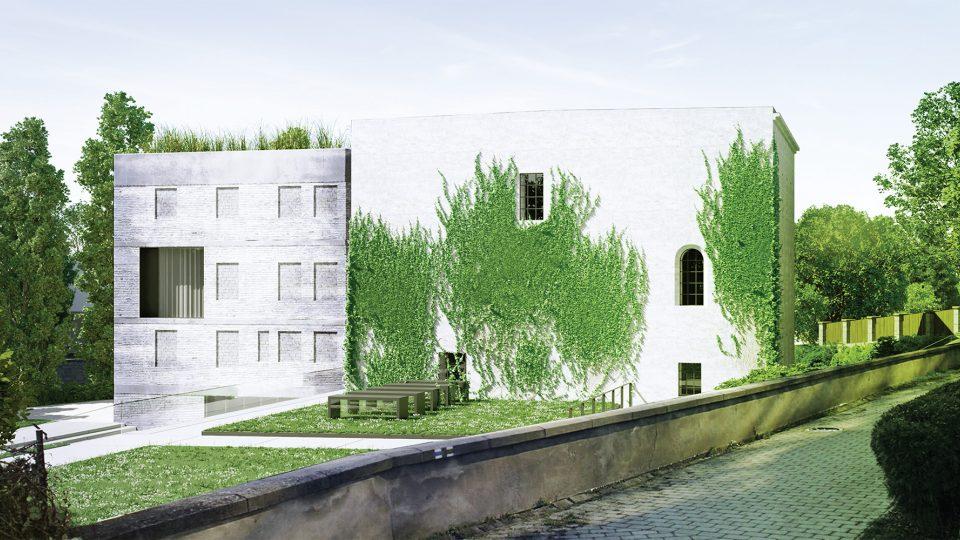 Návrh rekonstrukce, který skončil na druhém místě
