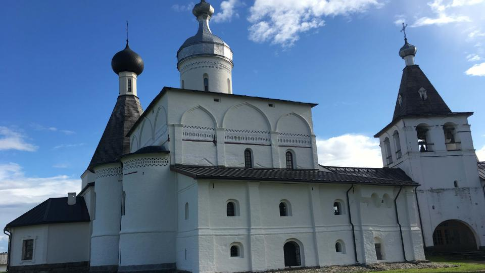 Ferapontův klášter Narození Bohorodičky