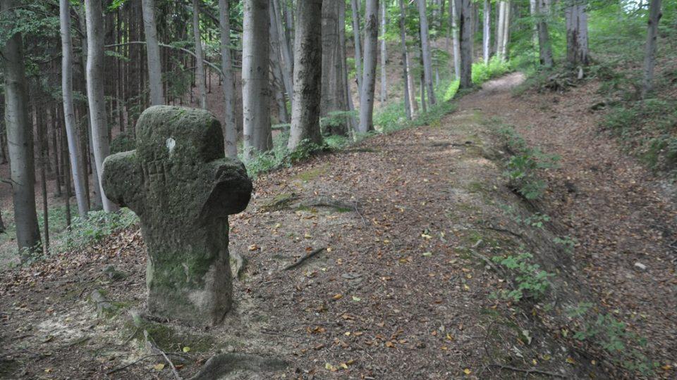 Smírčí kříž má nejistý původ i dobu, kdy byl vytesán