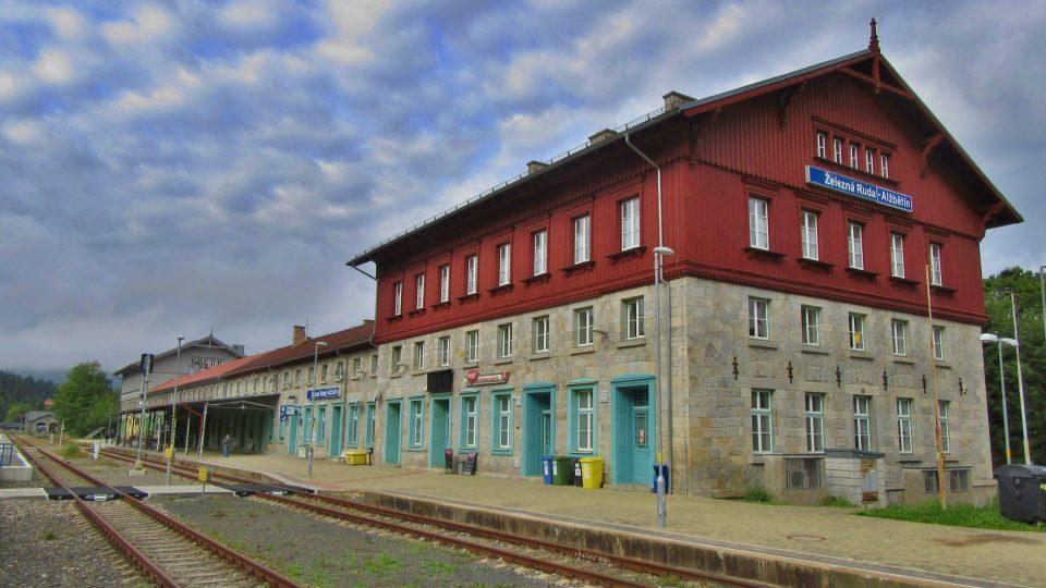 Česká část železniční stanice