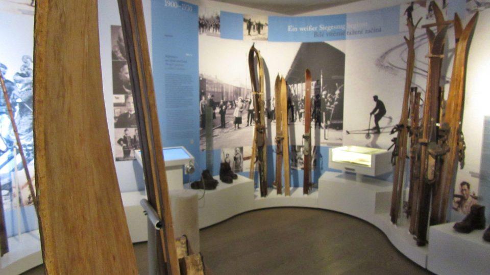 Expozice lyžování