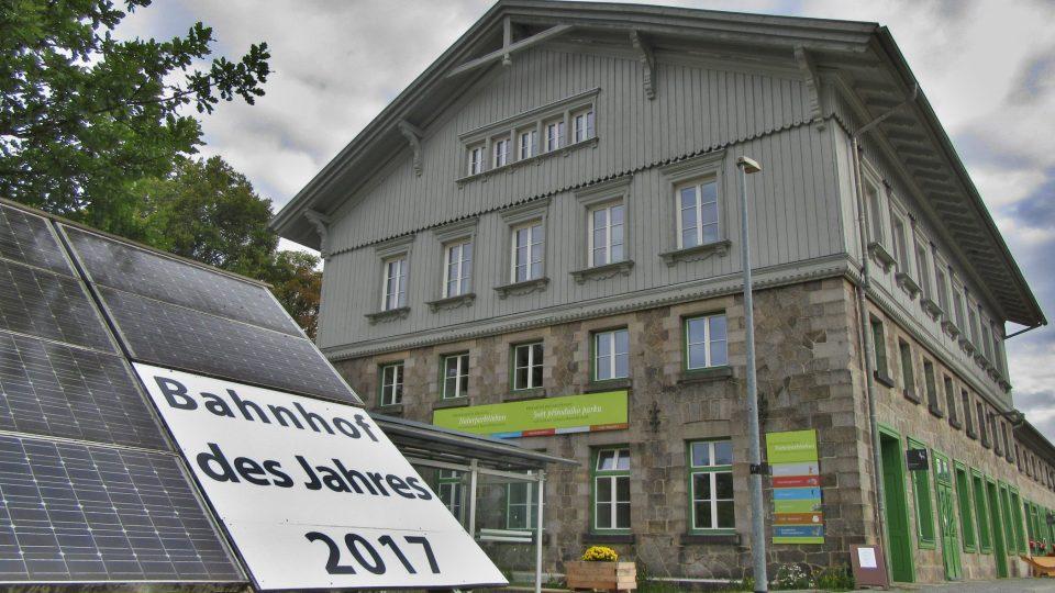 Německá část zvítězila jako nádraží roku 2017