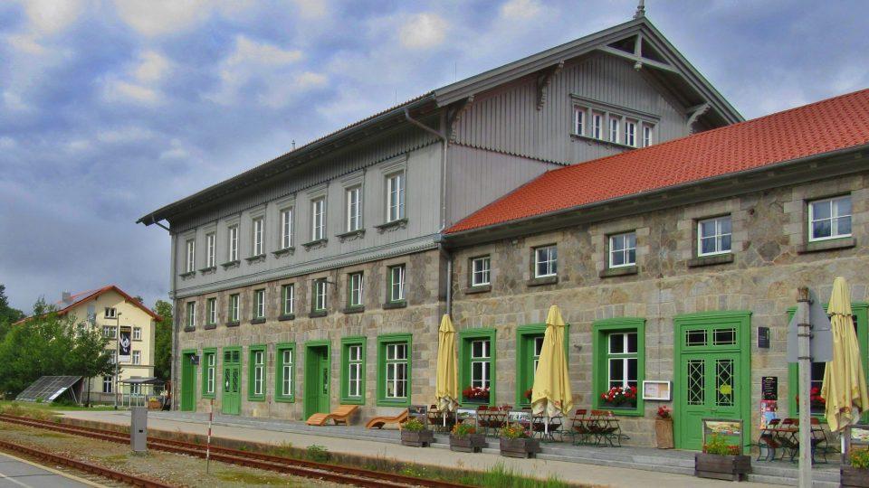 Německá část železniční stanice