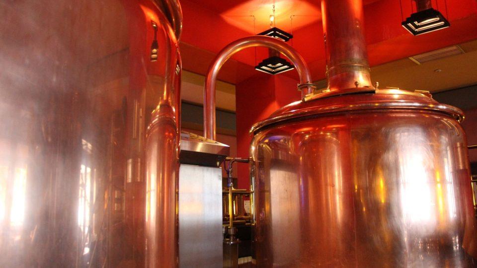 V restauraci Kumpel si vaří vlastní pivo
