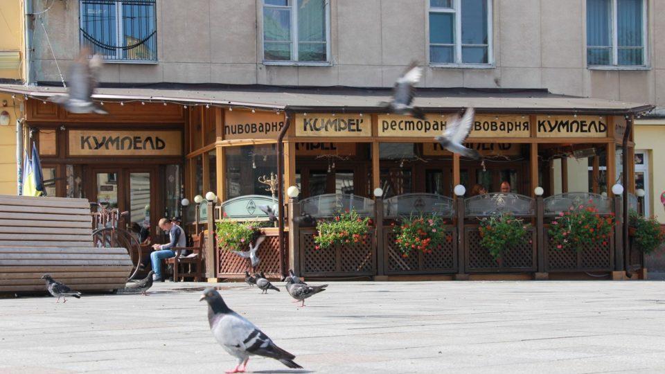 Restaurace Kumpel ve Lvově