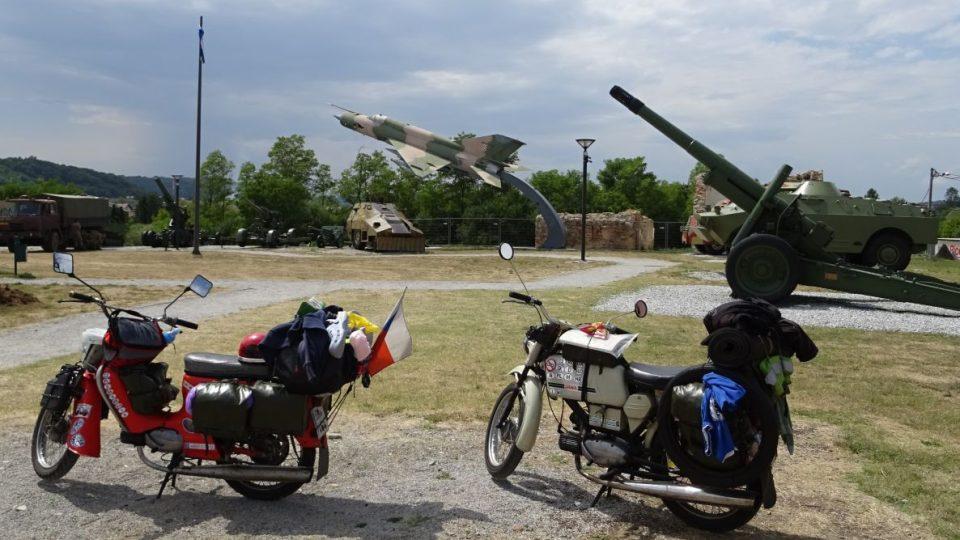 Muzeum války za nezávislost ve městě Karlovač - Chorvatsko