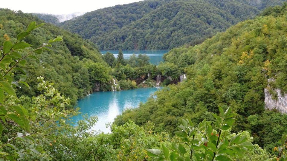 Plitvická jezera - Chorvatsko