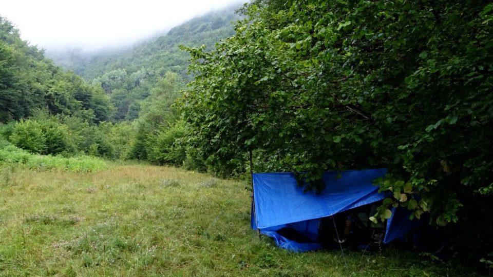 Bivak v minovém poli - Bosna a Hercegovina