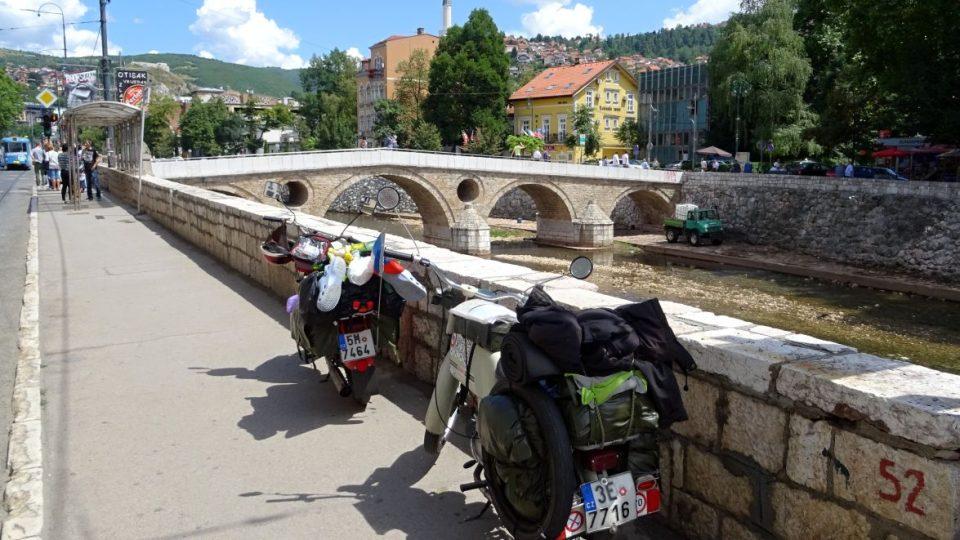 Latinský most v Sarajevu - Bosna a Hercegovina