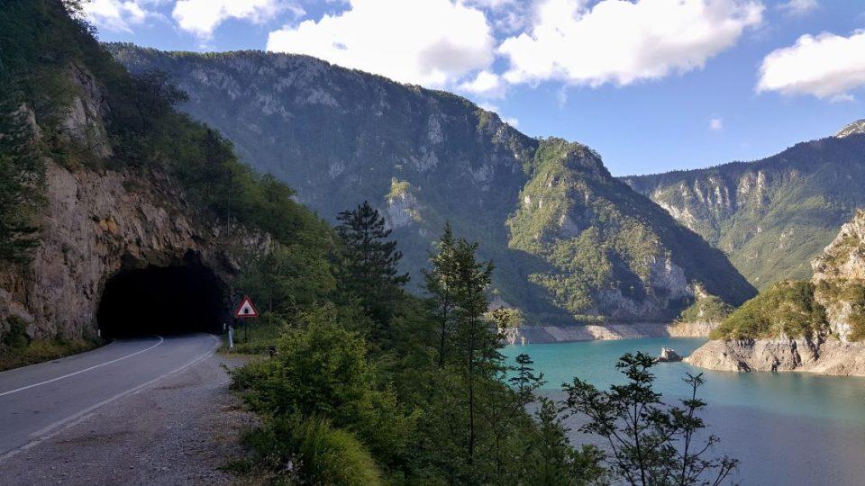 Kaňon řeky Piva - Černá Hora
