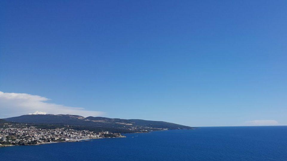 Výhledy na moře v Černé Hoře