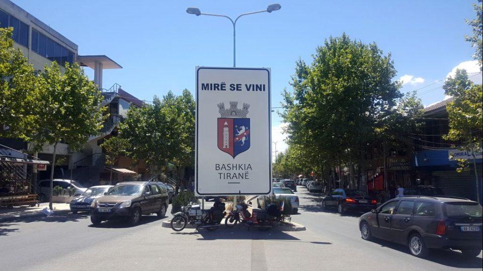 V hlavním městě Albánie Tiraně