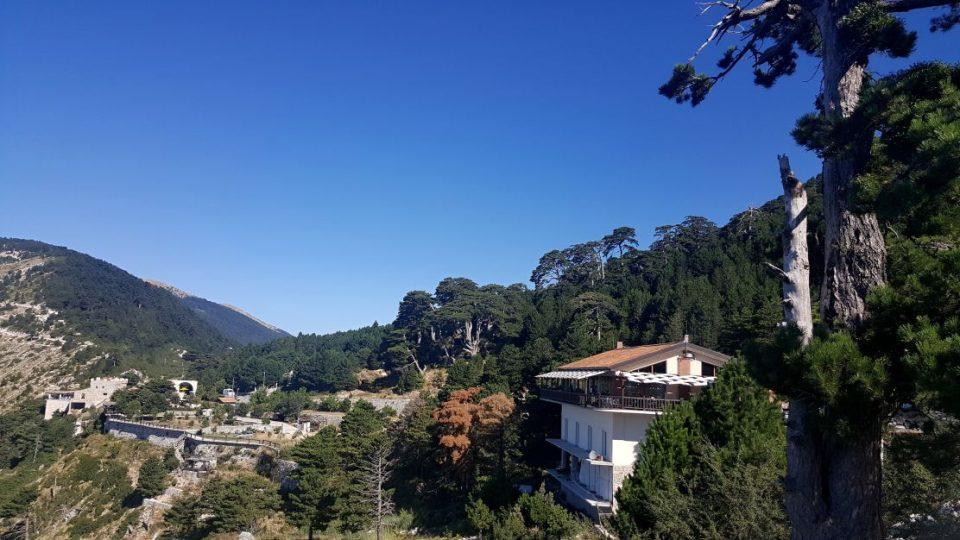 V horách v Albánii