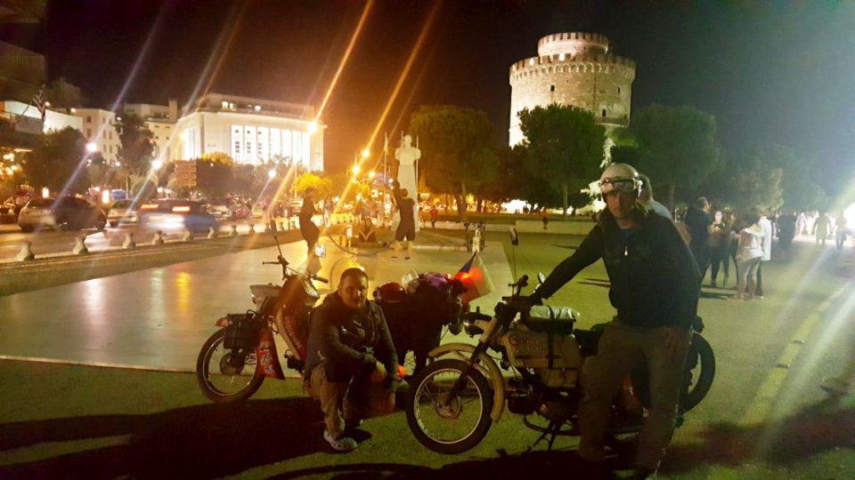 Noční návštěva Soluně - Řecko