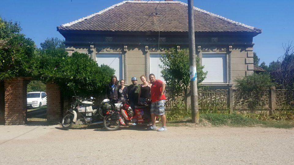 Nový kamarád a sběratel motocyklů Goran - Srbsko