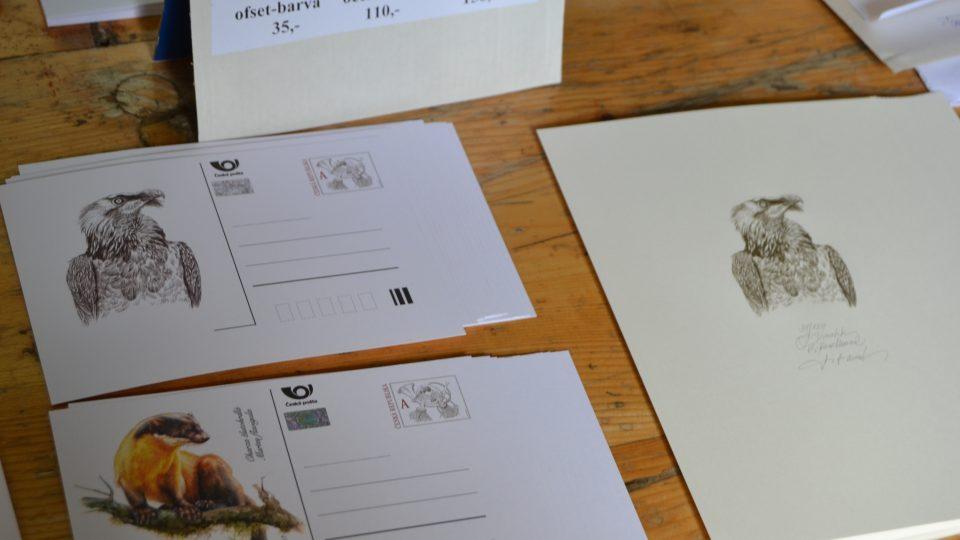 Koresponďáky a dopisnice