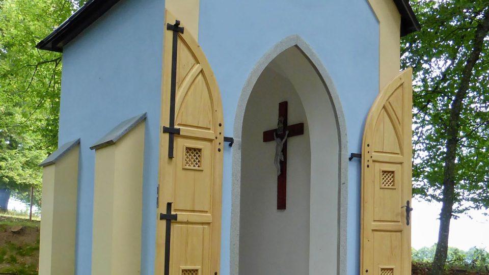 Kaple svaté Hildegardy u Horního Staňkova na Klatovsku