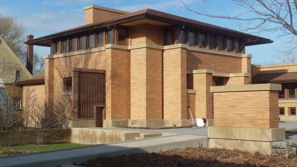 Frank LLoyd Wright, Martin dům v Buffalu