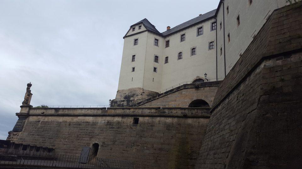 Saská pevnost Königstein