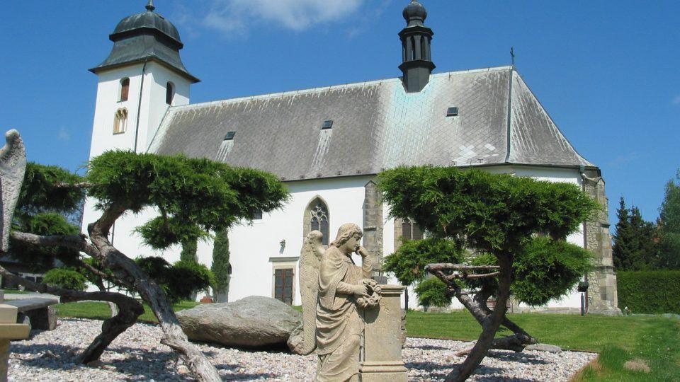 Kostel sv. Martina je nestarší památkou v obci