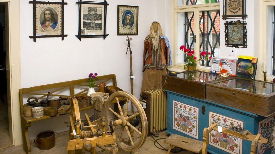 V Muzeu vesnice si mohou lidé prohlédnout, jak se v tomto kraji v minulosti asi žilo