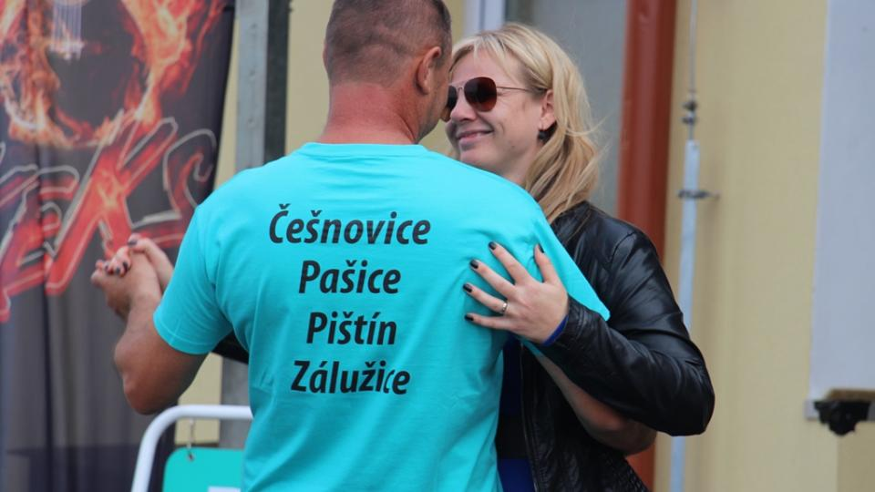 Z Pištína, jihočeské Vesnice roku, vysílal živě Český rozhlas České Budějovice