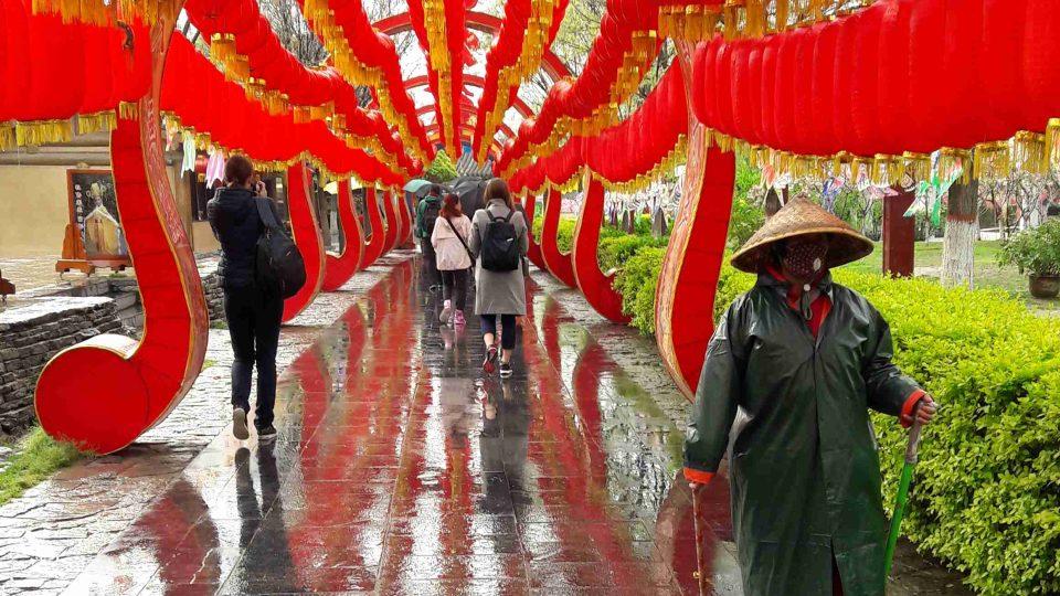 Tradiční výzdoba v Kchaj-fengu