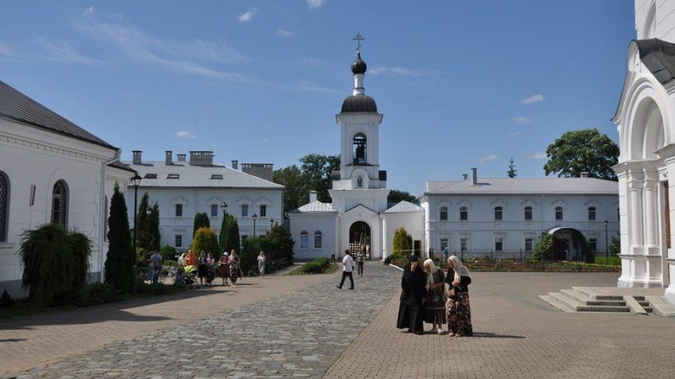 Areál Spaského kláštera v běloruském Polocku