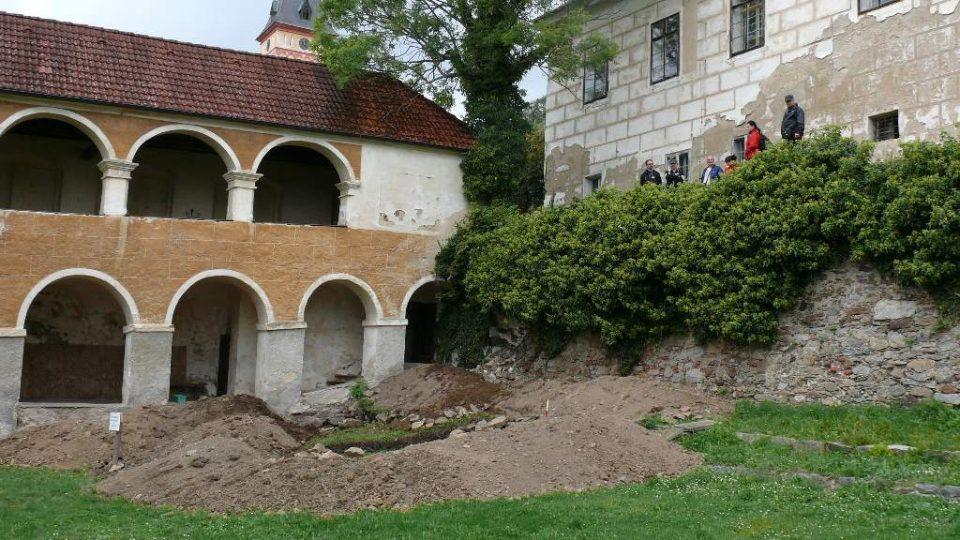 Na místě výkopu se nejspíš chovali kapři pro zámeckou kuchyni