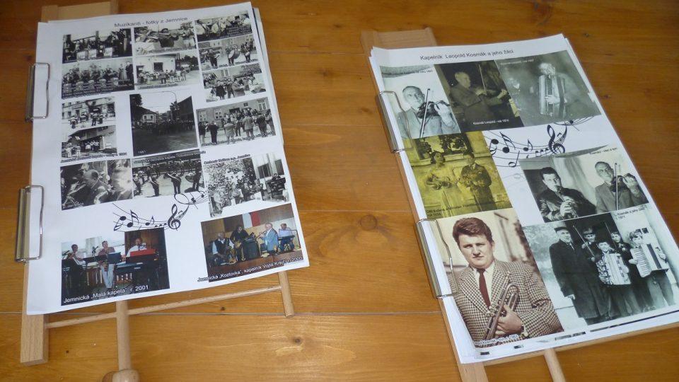 Fotografie z koncertů a oslav, na kterých hráli Kosmáci