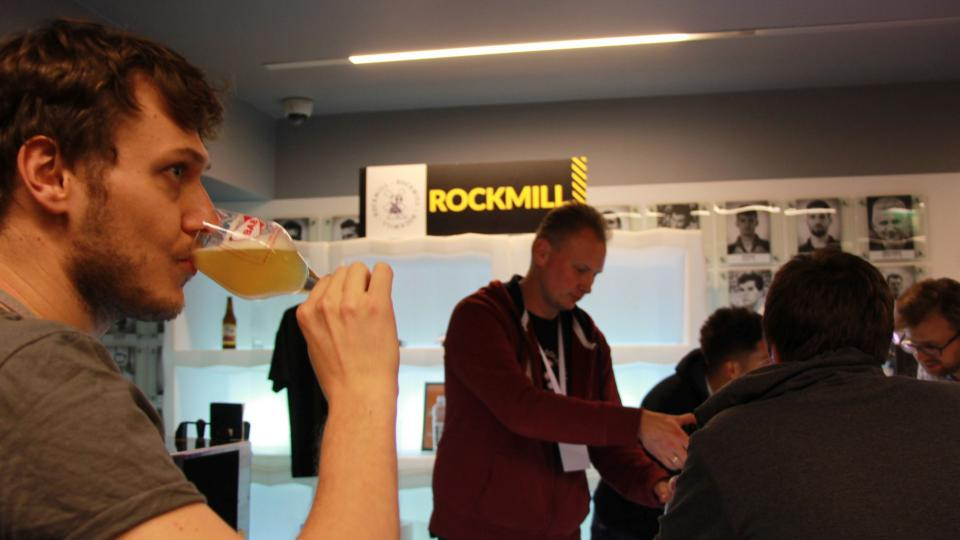 Ochutnávka piv z mladého minipivovaru Rockmill