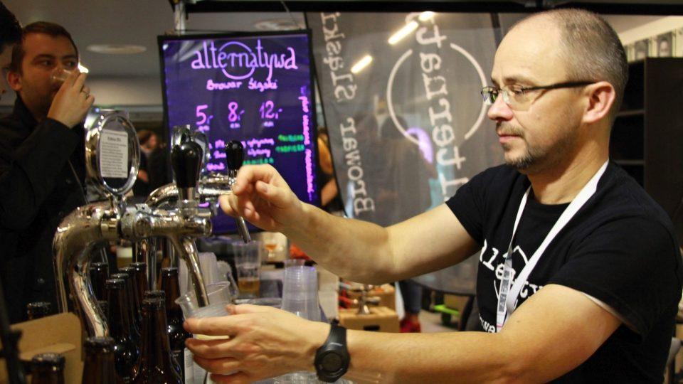 Vaření piva se v Polsku začalo rozvíjet s nástupem malých výrobců