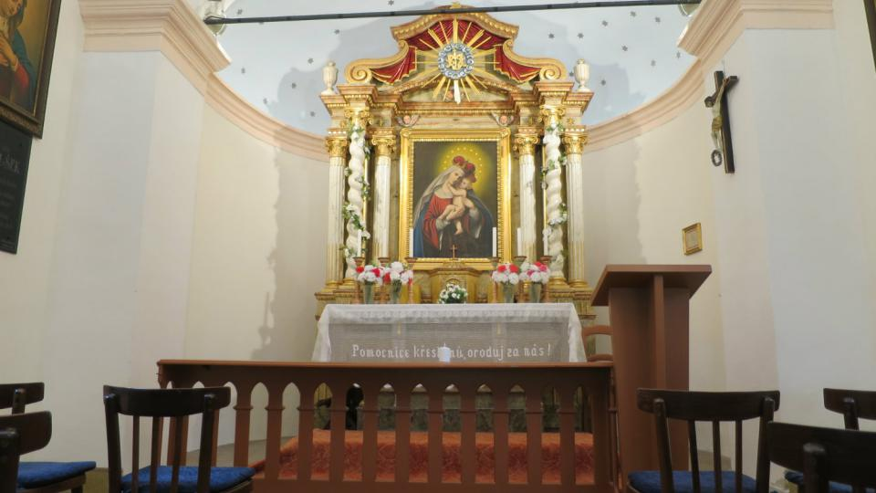 Oltář Horákovy kaple