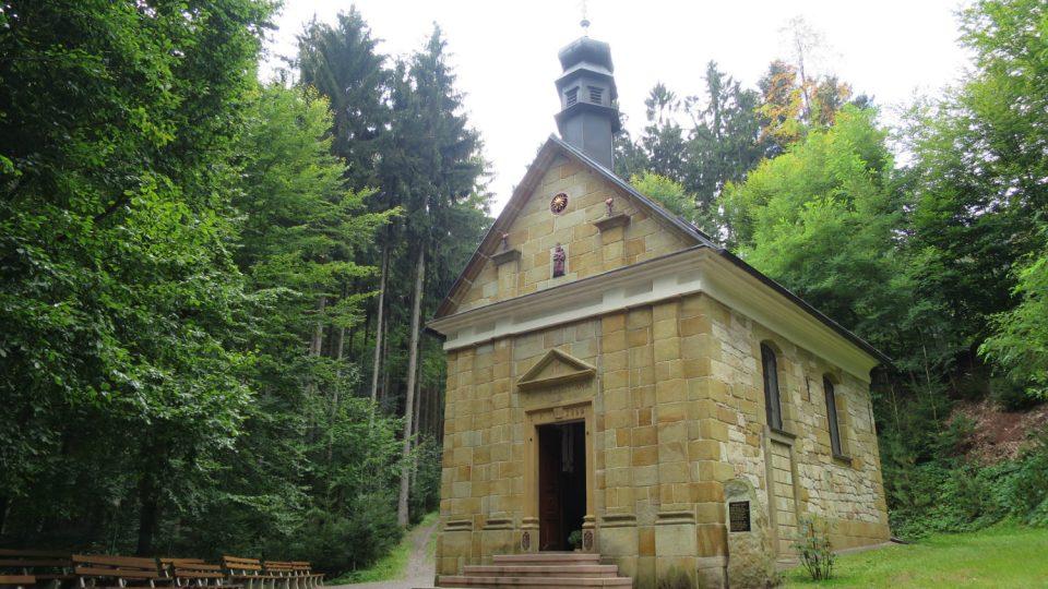 Horákova kaple u Dolní Dobrouče