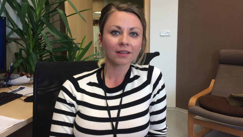 Psycholožka Karolína Veldová