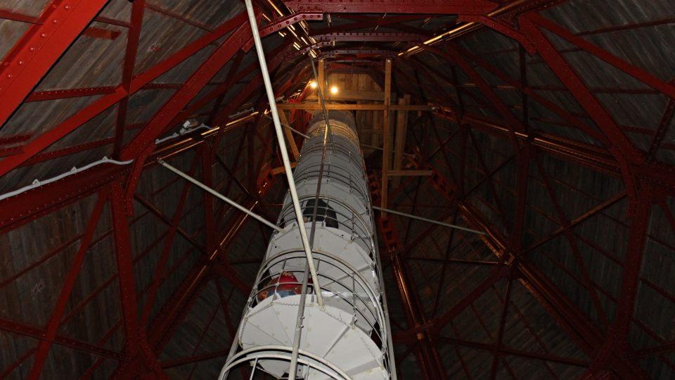 Schodiště na věž