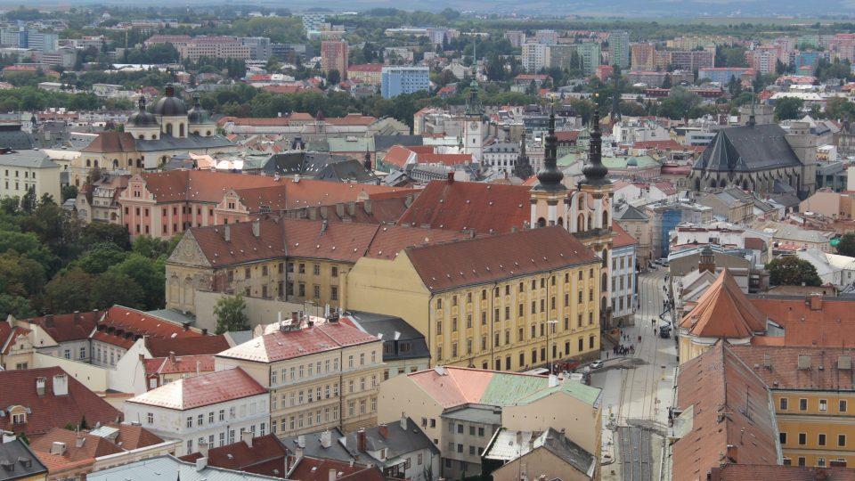 Pohled z jižní věže