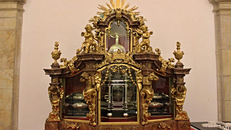 Relikviář sv. Pavlíny