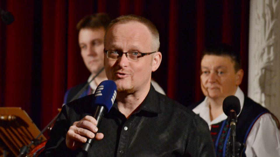 Průvodce večerem a dramaturg koncertu Jan Rokyta