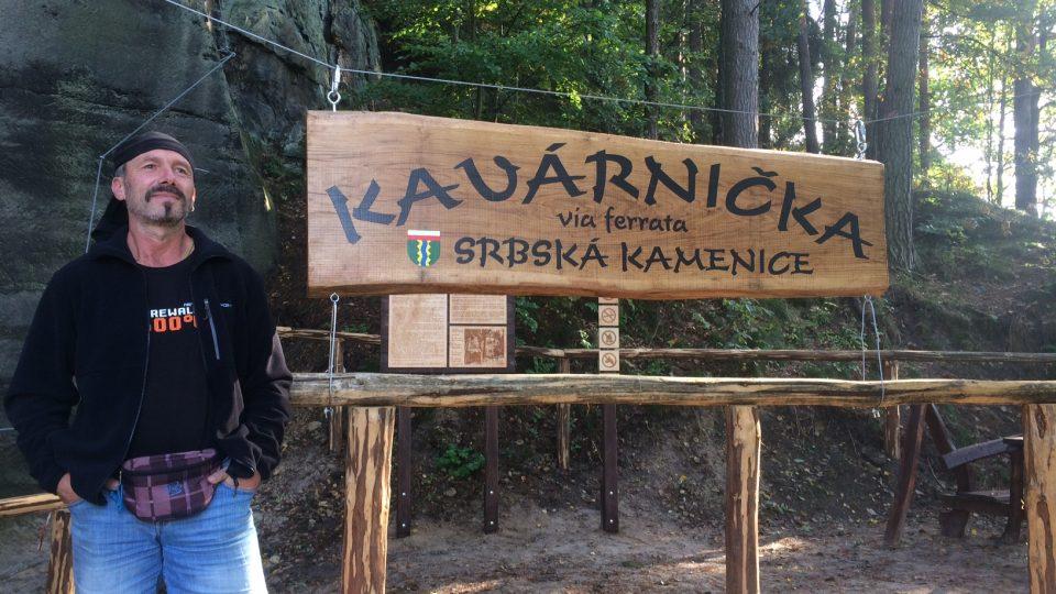 Via ferrata v Srbské Kamenici