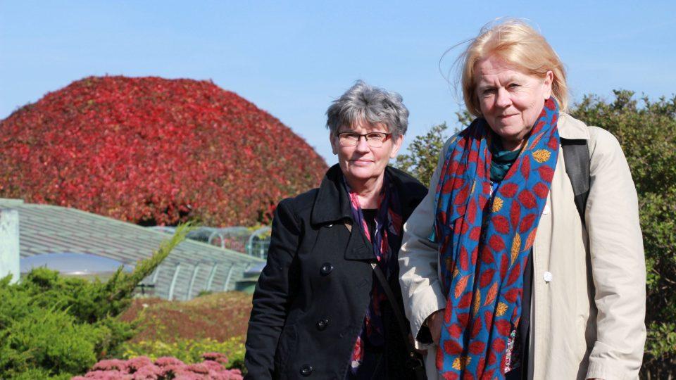 Barbara Siedlicka (vpravo) s kolegyní