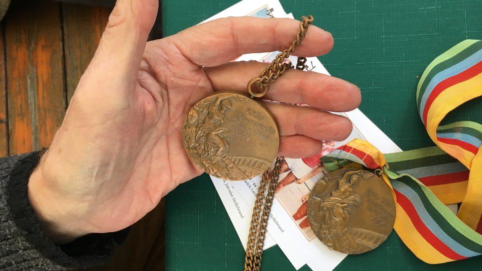 Medaile z olympiády v Montrealu